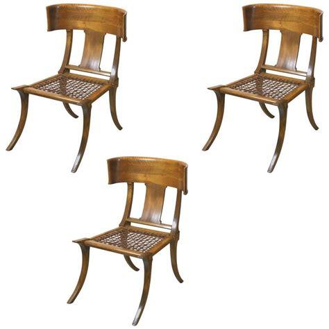 klismos chairs t h robsjohn gibbings klismos chairs by saridis athens