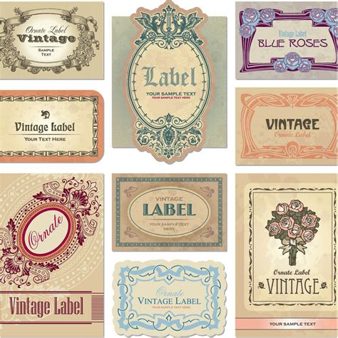label graphic design retro vector graphics blog page 5