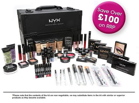 Makeup Kit Nyx nyx advanced kit hair and nyx