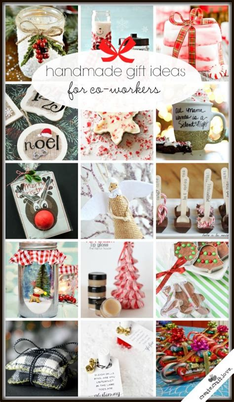 20 handmade gift ideas for co workers