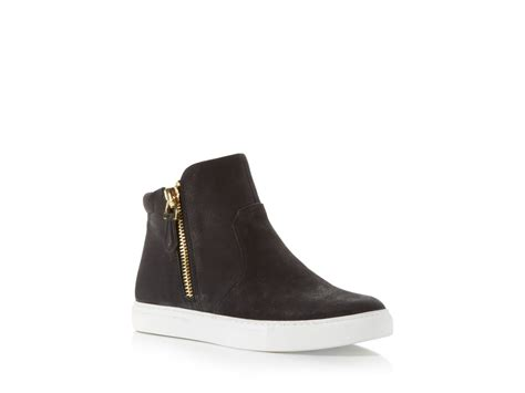 kenneth cole high top sneakers kenneth cole kiera side zip slip on high top sneakers in