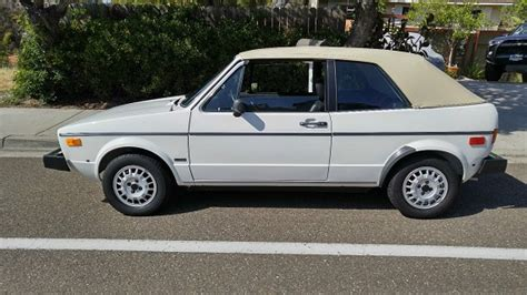volkswagen rabbit convertible for sale 1982 volkswagen rabbit convertible with 8 000