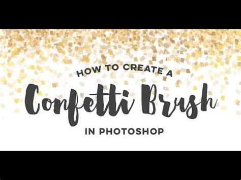 rotate pattern overlay in photoshop how to create a confetti brush in photoshop youtube
