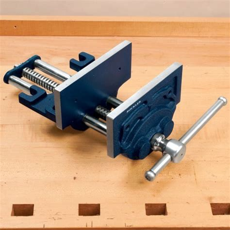 bench wood vise woodworkingdiyplan woodworking diy plan page 5