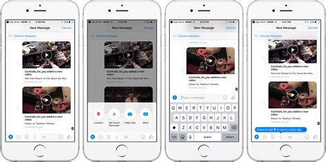 facebook layout on iphone facebook testa un messenger in stile messaggi di apple