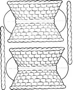 template for basket basket msss craft template