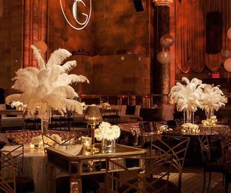 time theme in the great gatsby wedding theme great gatsby inspired celebration 2372123
