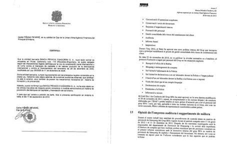 certificados y documentos de espaa la unidad antiblanqueo de andorra deloitte y kpmg