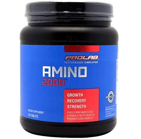Suplemen Amino 2000 Prolab Amino 2000 Jual Amino Prolab 2000