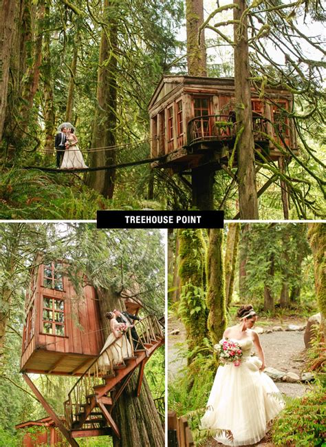 treehouse wedding venue top 26 coolest places to get married in the us green
