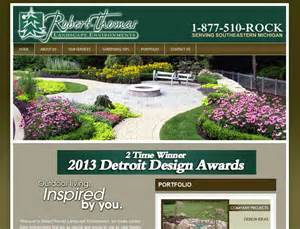 seo website design for landscaping company in auburn mi