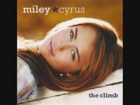 the climb mp miley cyrus the climb instrumental hq