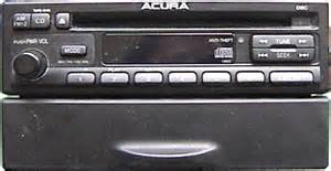 Acura Cl Radio Code 1998 Acura Cl Stereo Repairs