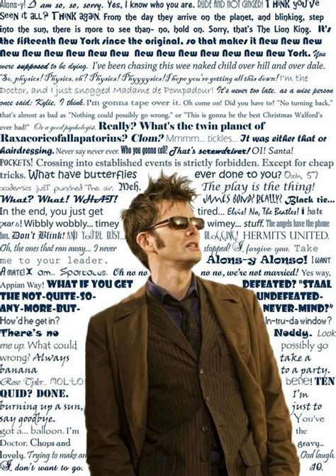 10 Favorite Quotes by Best Tenth Doctor Who Quotes Quotesgram