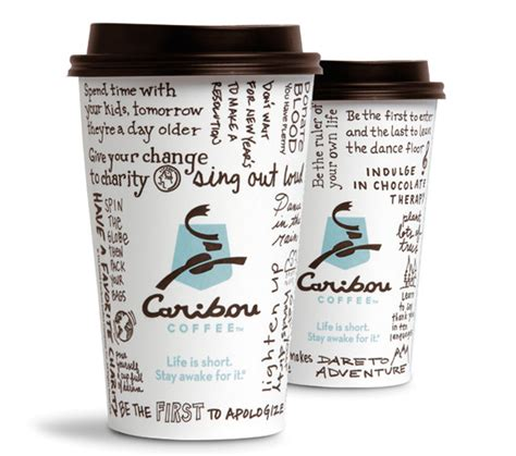 Caribou Coffee caribou coffee 1 coffee of the day 2 medium drinks
