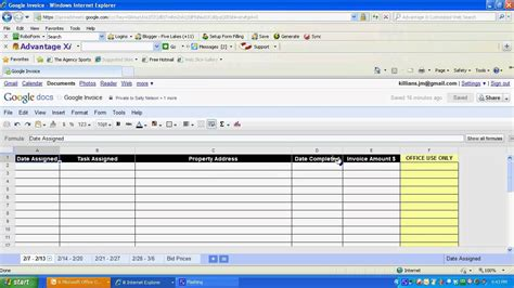 free simple invoice template google docs all templates deal