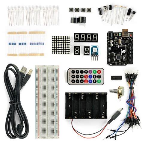 arduino tutorial for beginners sainsmart uno r3 starter kit with 16 basic arduino