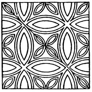 pattern tile circle medieval tile circle pattern clipart etc