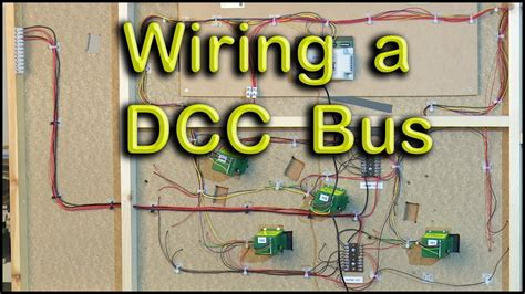 dcc bus wiring  chadwick model railway youtube