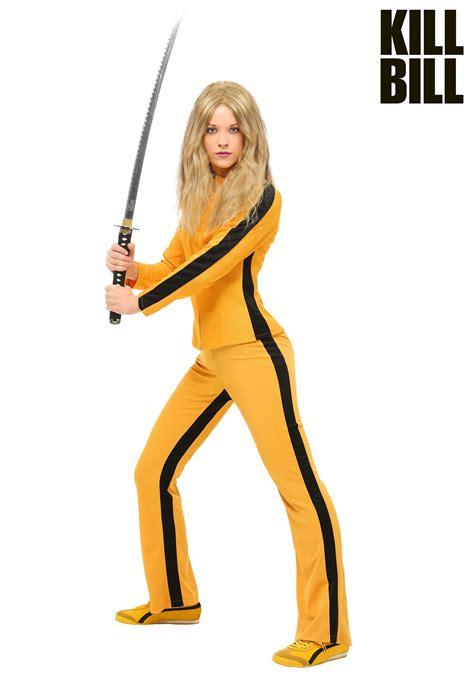 kill bill beatrix kiddo women costume