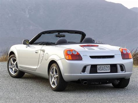 2003 toyota mr2 spyder information and photos zombiedrive