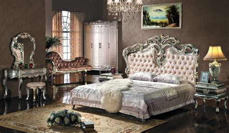 european style bedroom furniture setupholstered headboard