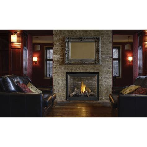 napoleon hdx40 top direct vent clean face fireplace