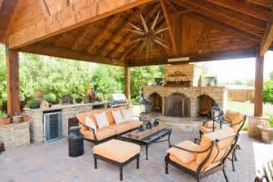Luxury Ranch House Plans For Entertaining Outdoor Covered Patios Arbors Fences Stone Work In