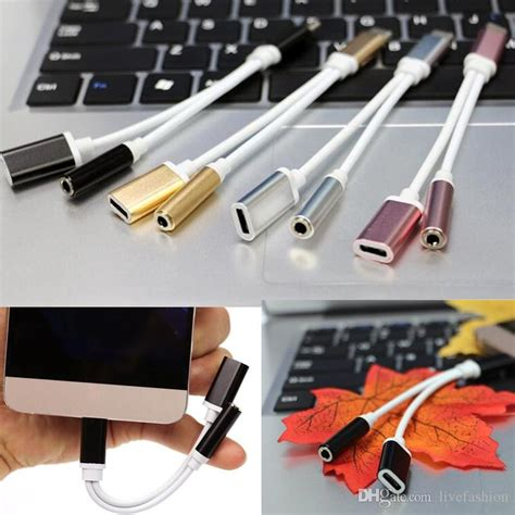 Audio Converter Splitter 2 In 1 3 5mm 2 In 1 3 5mm Audio Cable Converter Cell Phone Earphone