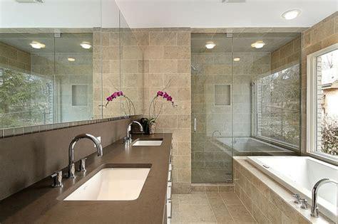 small master bad design ideen 105 badezimmer design ideen stein und holz kombinieren