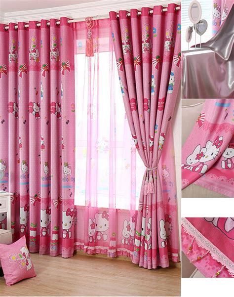 Cheap Nursery Curtains Discount Cat Pink Nursery Curtains For