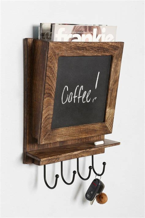 Chalkboard Wall Shelf by 4040 Locust Chalkboard Wall Shelf