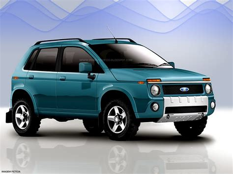 Lada News New Lada Niva Renderings Revealed Autoevolution