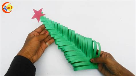diy how to make paper christmas tree paper christmas