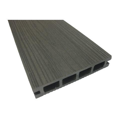materiaux composite pour patio planche en composite pour terrasse 12 pi gris rona