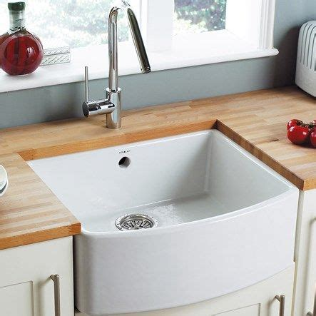 wickes bow front 1 bowl kitchen sink ceramic white astracast edinburgh white ceramic 1 bowl bow front sink
