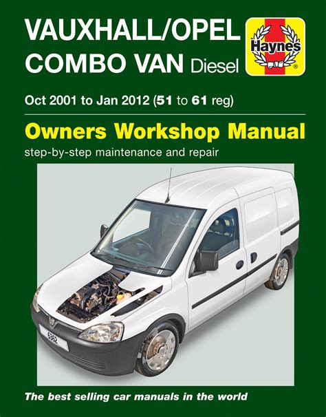 what is the best auto repair manual 2001 bmw z8 interior lighting haynes 6362 repair manual vauxhall opel combo van 2001 2012 51 61 diesel ebay
