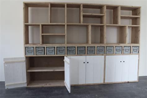 Bureau In Kastenwand by Kast Bedden Kasten Kloostertafels Eettafels