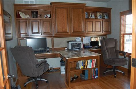 Custom Built Desks Home Office Built In Office Furniture Gallery Of Office Cabinets And Desks Home Ideas Pinterest