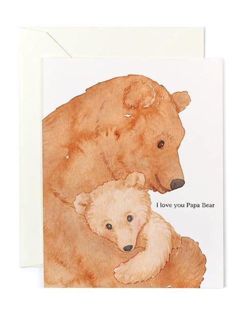 I Love You Papa Bear Card ? Golden Fox