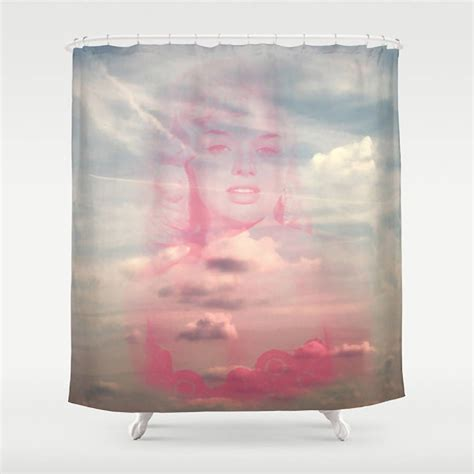 makeup shower curtain vintage style beauty shower curtain by ruby and b