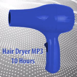 Hair Dryer Mp3 white noise hair dryer mp3 10 hours ambient
