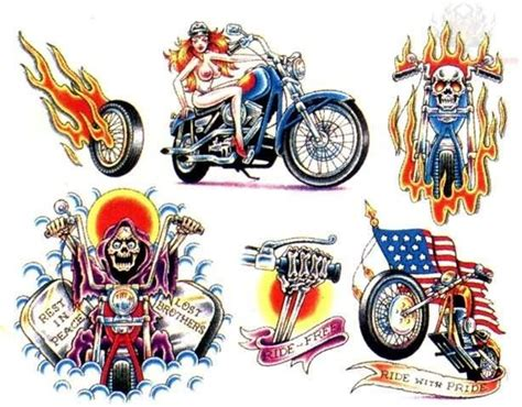 harley davidson tattoo design gallery color harley davidson designs