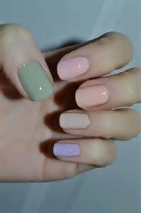 pastel nail colors 17 pastel nail designs pretty designs