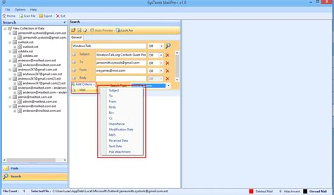 How To Search Outlook Email Microsoft Outlook Email Forensics Forensic Pst Viewer