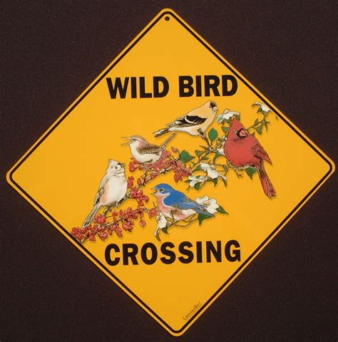 wild bird crossing signs 13 95 wildbird xing signs bird