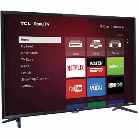 Tv Led 32 Inch Merk Tcl hurry get this tcl 32 quot roku smart led hdtv for only 125