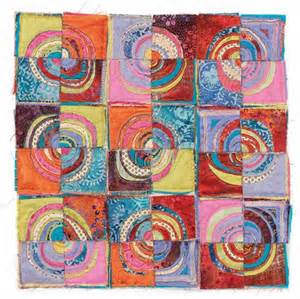 Reverse applique quilting daily