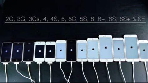 prueba de velocidad de todos los iphone version  iphoneate ineate