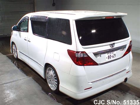Talang Air Alphard Injection 2011 2011 toyota alphard white for sale stock no 51335 japanese used cars exporter